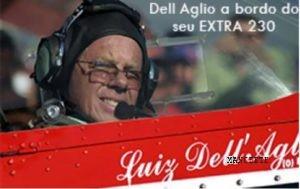 Luiz Carlos Basson Del'Aglio, com mais de 19 mil horas como piloto agrícola