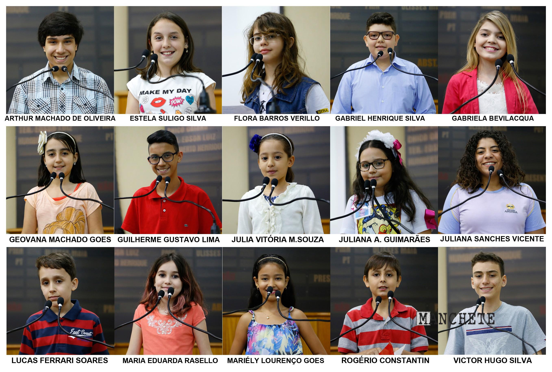 A Escola Legislativa da Câmara de Maringá divulgou a lista dos vereadores  mirins eleitos para a Legislatura 2016 2017. Cerca de 120 estudantes foram  ... 7df0866440