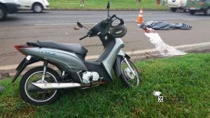 moto acidente cambé