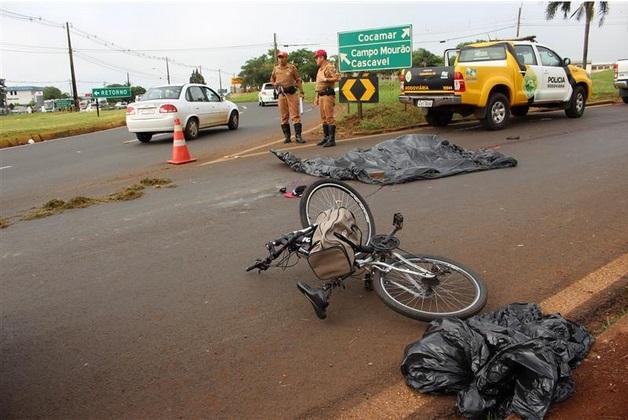 acidente ciclista pr 317
