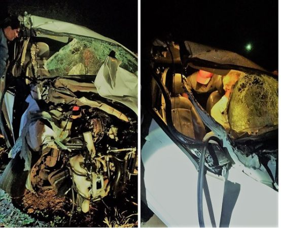 acidente pr 466 Acidente partiu ao meio trator na rodovia