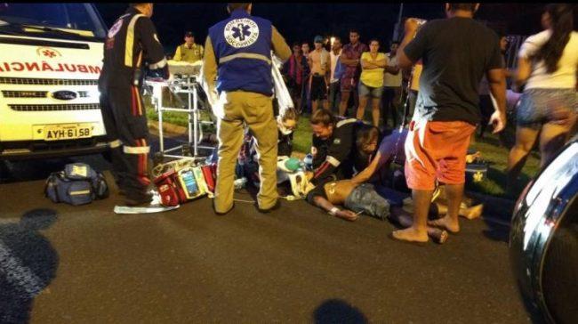 ciclista acidente maringa Maringá: Garoto de 13 anos é atropelado e morre no hospital