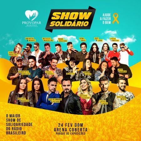 show maringa fm Show Solidário: diversão e segurança para toda a família